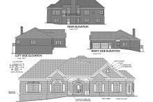 Dream House Plan - European Exterior - Rear Elevation Plan #56-184