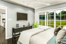 Cottage Interior - Master Bedroom Plan #406-9657