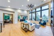 Contemporary Style House Plan - 3 Beds 4 Baths 4730 Sq/Ft Plan #1066-24 Interior - Family Room