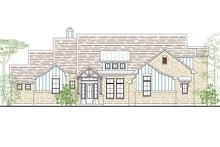 Country Exterior - Front Elevation Plan #80-180