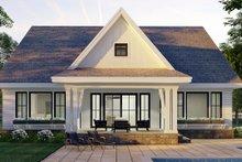 Home Plan - Farmhouse Exterior - Rear Elevation Plan #51-1168