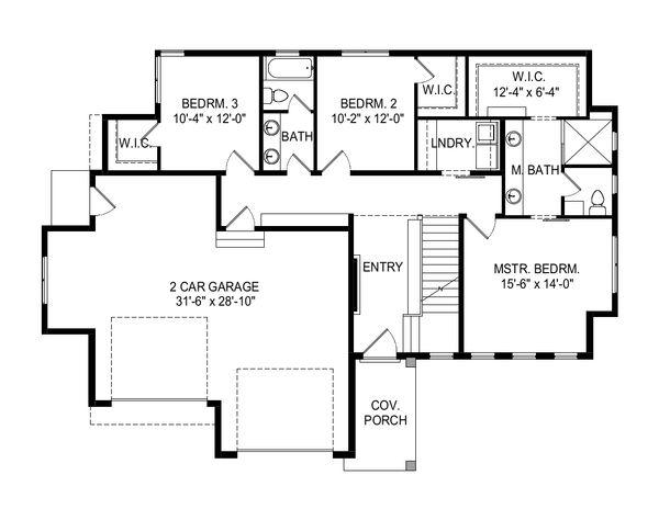 Modern Floor Plan - Main Floor Plan Plan #920-112