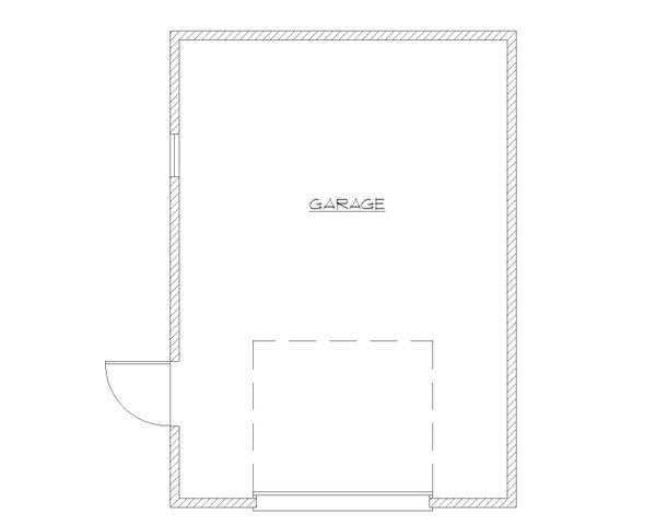 Craftsman Floor Plan - Main Floor Plan Plan #922-5