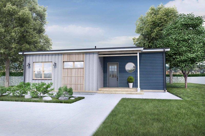 House Design - Modern Exterior - Front Elevation Plan #924-10