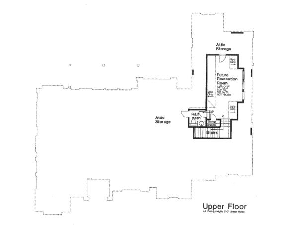 European Floor Plan - Other Floor Plan Plan #310-654