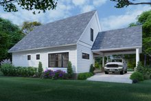 Dream House Plan - Cottage Exterior - Rear Elevation Plan #120-273