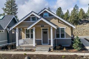 Craftsman Exterior - Front Elevation Plan #895-53