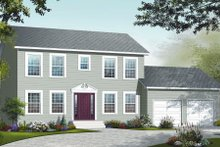 Country Exterior - Front Elevation Plan #23-2261