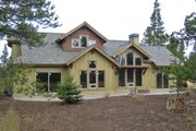 Craftsman Style House Plan - 3 Beds 2.5 Baths 1921 Sq/Ft Plan #892-2 Exterior - Rear Elevation