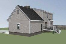 Cottage Exterior - Rear Elevation Plan #79-158