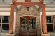 Craftsman Style House Plan - 4 Beds 3.5 Baths 3938 Sq/Ft Plan #437-103 Exterior - Other Elevation