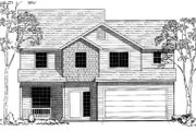 Traditional Style House Plan - 3 Beds 2.5 Baths 1798 Sq/Ft Plan #303-316 Exterior - Front Elevation