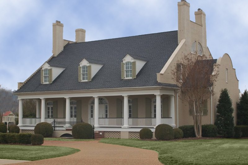 Architectural House Design - Country Exterior - Other Elevation Plan #137-233