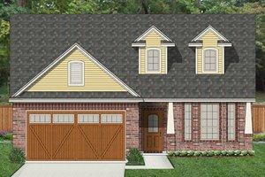Architectural House Design - Craftsman Exterior - Front Elevation Plan #84-526