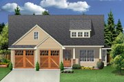 Craftsman Style House Plan - 3 Beds 2 Baths 1442 Sq/Ft Plan #84-451 Exterior - Front Elevation