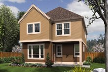 Craftsman Exterior - Rear Elevation Plan #48-631