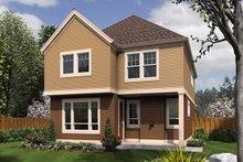 Dream House Plan - Craftsman Exterior - Rear Elevation Plan #48-631