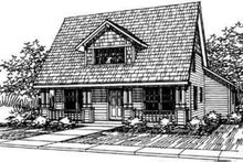 Home Plan - Cottage Exterior - Front Elevation Plan #124-306