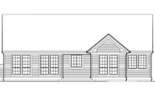 Traditional Exterior - Rear Elevation Plan #48-124