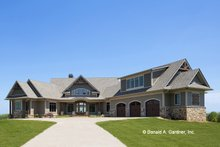 Dream House Plan - Ranch Exterior - Front Elevation Plan #929-655