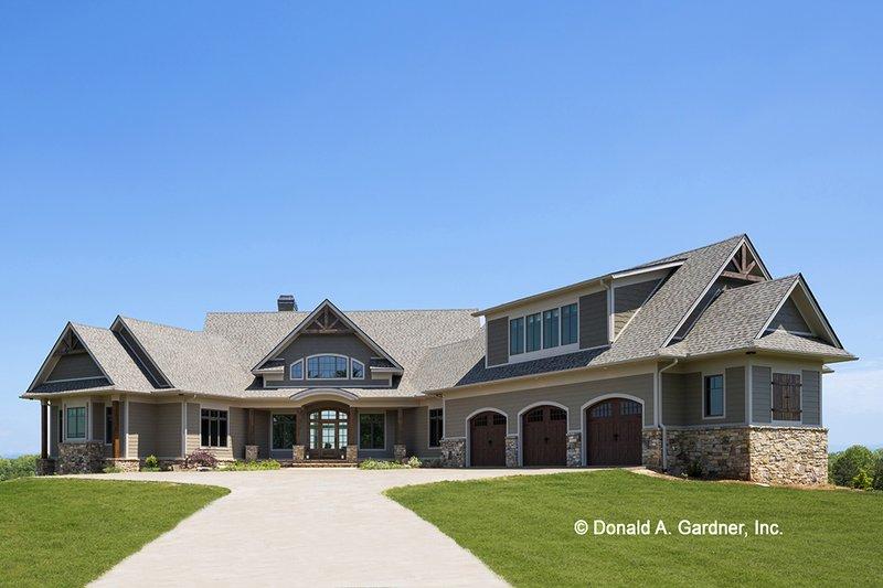 House Plan Design - Ranch Exterior - Front Elevation Plan #929-655