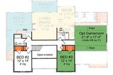 Cottage Floor Plan - Upper Floor Plan Plan #513-2059