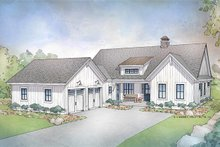 Dream House Plan - Farmhouse Exterior - Front Elevation Plan #928-303