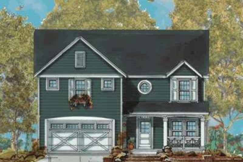 Dream House Plan - Traditional Exterior - Front Elevation Plan #20-1847