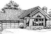 Traditional Style House Plan - 3 Beds 2 Baths 1368 Sq/Ft Plan #320-127 Exterior - Other Elevation