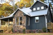Country Style House Plan - 3 Beds 2.5 Baths 1814 Sq/Ft Plan #932-2 Exterior - Other Elevation