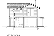 Cottage Style House Plan - 2 Beds 1 Baths 1000 Sq/Ft Plan #890-3 Exterior - Other Elevation