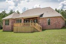 Dream House Plan - Craftsman Exterior - Rear Elevation Plan #430-152