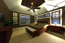 Craftsman Exterior - Other Elevation Plan #51-521