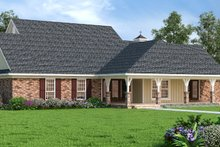 Dream House Plan - Craftsman Exterior - Rear Elevation Plan #45-587