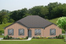 Dream House Plan - Traditional Exterior - Front Elevation Plan #84-604