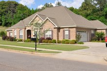 Architectural House Design - Traditional Exterior - Front Elevation Plan #63-234