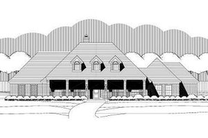 Traditional Exterior - Front Elevation Plan #411-743