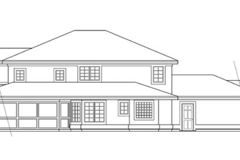 Mediterranean Exterior - Other Elevation Plan #124-237 - Houseplans.com