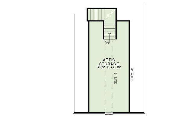 European Floor Plan - Other Floor Plan Plan #17-2456