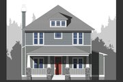 Craftsman Style House Plan - 4 Beds 3 Baths 2546 Sq/Ft Plan #461-62