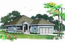 House Blueprint - Traditional Exterior - Front Elevation Plan #72-323