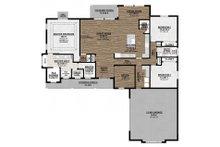 Farmhouse Floor Plan - Main Floor Plan Plan #1077-3