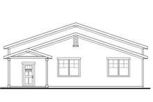 Dream House Plan - Traditional Exterior - Other Elevation Plan #124-960