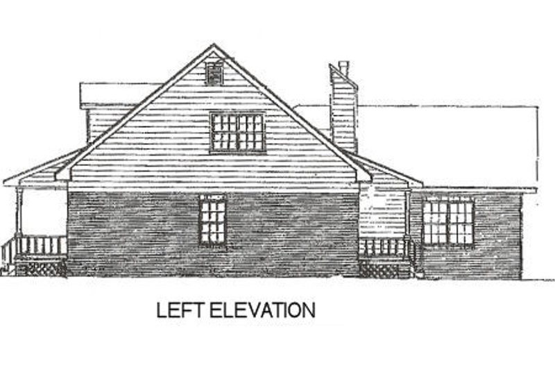 Country Exterior - Other Elevation Plan #14-211 - Houseplans.com