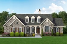 Country Exterior - Front Elevation Plan #929-259