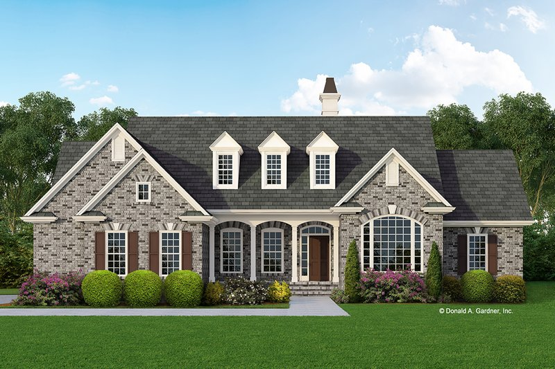 Home Plan - Country Exterior - Front Elevation Plan #929-259