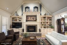 Country Interior - Family Room Plan #929-556
