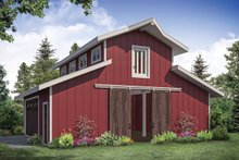 Dream House Plan - Country Exterior - Front Elevation Plan #124-1176