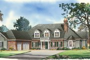 Traditional Style House Plan - 5 Beds 4.5 Baths 5163 Sq/Ft Plan #490-2 Exterior - Other Elevation