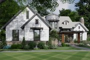 Contemporary Style House Plan - 3 Beds 2.5 Baths 2425 Sq/Ft Plan #120-268 Exterior - Front Elevation